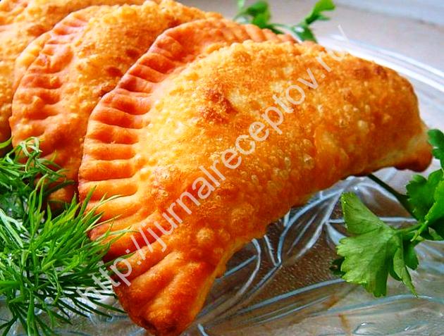 чебуреки с картофелем и сыром рецепт с фото