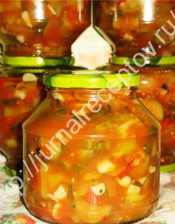 грузинский салат на зиму фото