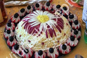 салат с сыром фото
