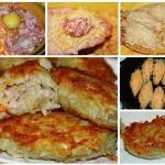 Зразы картофельные с мясом фото