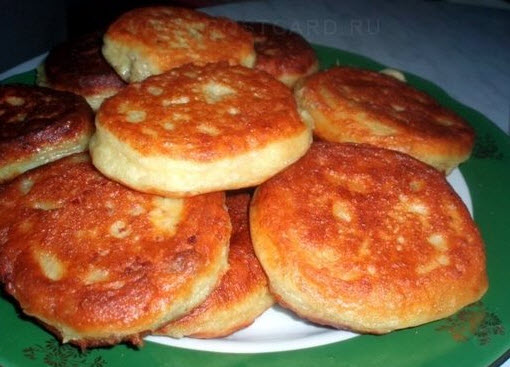 Пирожки из творога фото