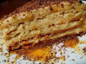 """Торт """"Крем-брюле"""" фото"""