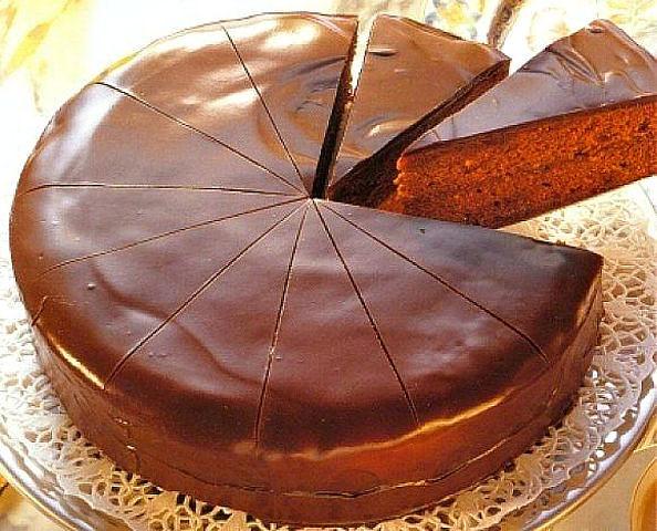 Торт Прага в мультиварке фото