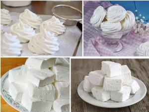 Домашний ванильный зефир