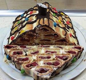"""Торт """"Монастырская изба"""
