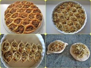 Красивый и вкусный пирог «Соты»