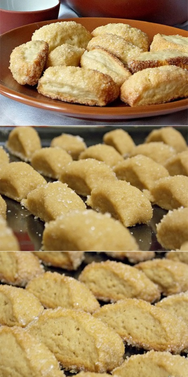 Сахарное печенье без яиц, которое очень понравилось всем моим. Получается с ароматом кунжута и очень рассыпчатым.