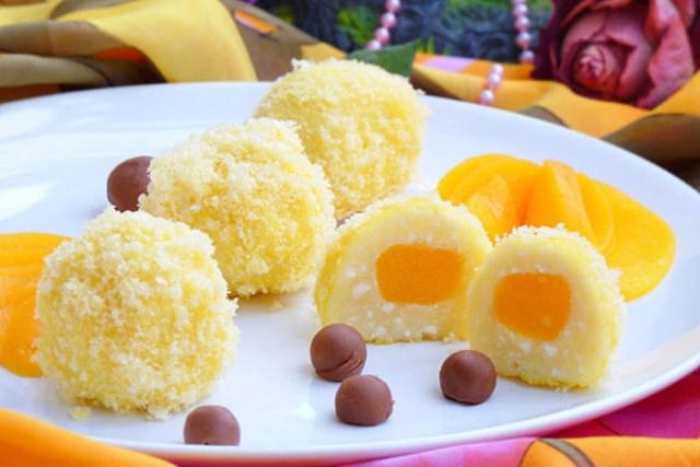 Творожные «Солнышки» - прекрасный творожный десерт, очень вкусный и полезный.