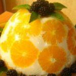 """Желейный торт """"Апельсины в йогурте"""" получился просто объеденье. Советский рецепт!"""