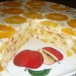 """Тортик """"Фруктовая нежность"""" полюбился нашей семье! Вкуснотище!"""