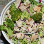 Ужин без забот и хлопот - куриный салат с брокколи