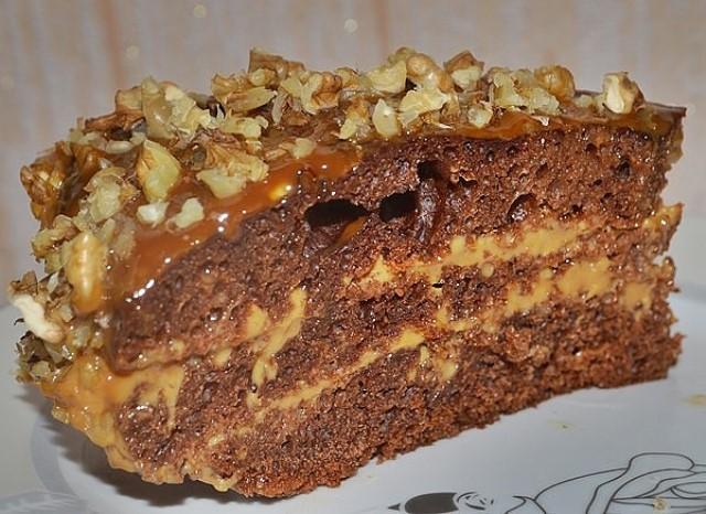 """Очень легкий и вкусный торт, который просто """"взорвет ваш мозг....!"""""""