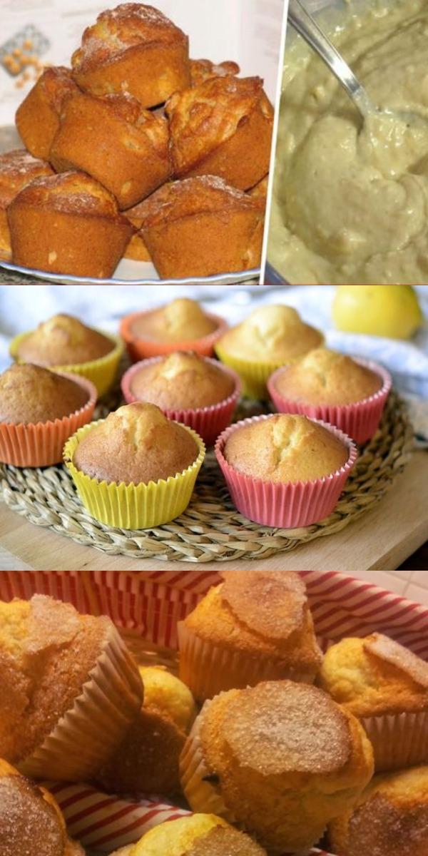 Вкуснейшие кексы. Готовятся очень просто и быстро