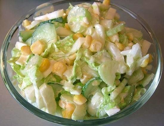 Нежный и воздушный салатик затмил все! Такого вкусного еще не пробовали.