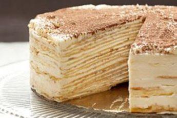 Торт «КРЕПВИЛЬ» – хочется съесть весь, до чего же вкусный.