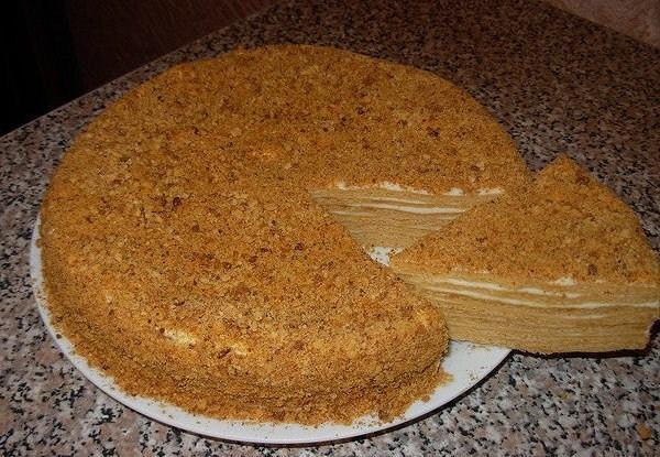 Самый вкусный медовый торт в мире