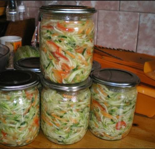 Салат из кабачков «Добряк» - самый вкусный салат!