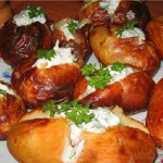 Запеченный картофель в духовке рецепт