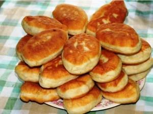 Быстрые пирожки на кефире реепт с фото
