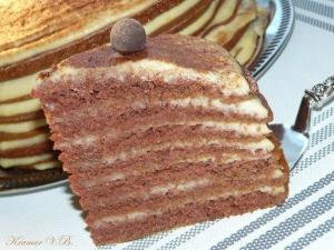 """Торт """"Ноченька"""" фото"""