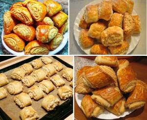 Рецепт  приготовления печенья гата