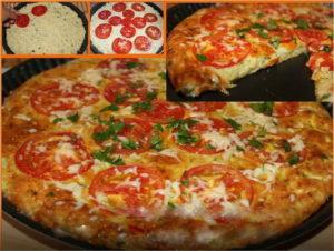 Кабачковая пицца в духовке