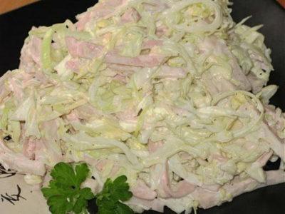 Салат «Гомельчанка». Салатик на скорую руку. Очень простой, но в тоже время очень вкусный салат.