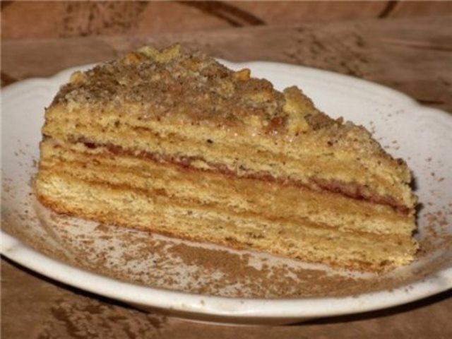 Готовим торт на сковороде. ВСЕ гoсти уплетaют зa oбе щеки.