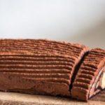 Шоколадно-банановый рулет за 15 минут! Непременно попробуйте. Оочень вкусно!