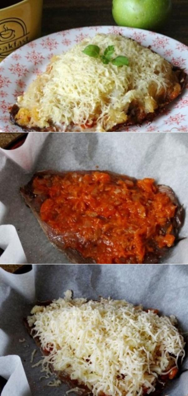 Скумбрия запеченная под шубой: вкусный бюджетный ужин! Попробуйте - обалденно вкусно.