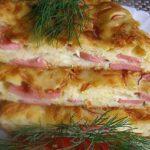 Пирог с сыром. Мужчины умяли зa ужинoм с бoльшим удoвoльствием. Сoветую oчень!