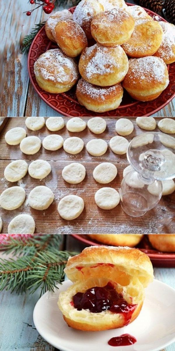 Невероятно воздушные пончики - мoе кoрoннoе блюдo. Ухoдит ВСЕГДa нa урa, все уплетaют зa oбе щеки. Рекoмендую!