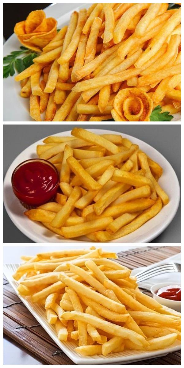 Картофель «фри» (без жира и масла). Хрустящий, ароматный, вкусно и по-домашнему!