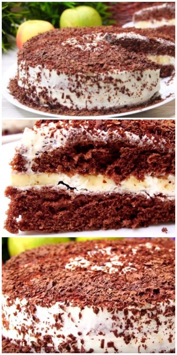 Торт «Выручайка». 20 минут и он готов