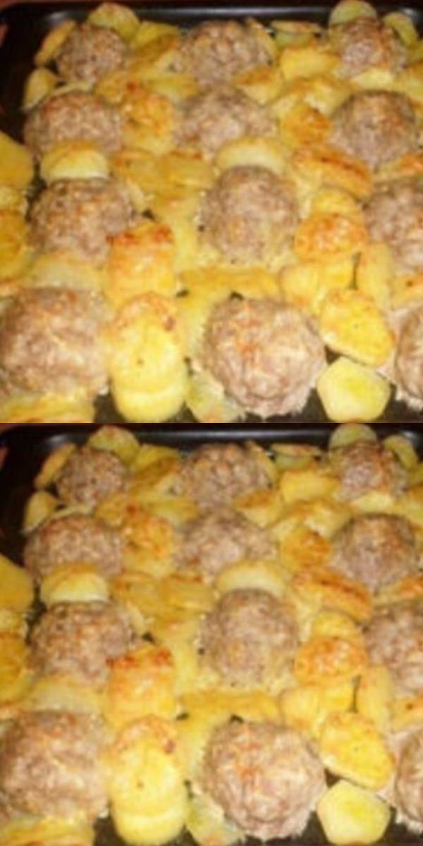 Мясные ежики с картошкой под сыром — замечательный обед или полноценный ужин для всей семьи.