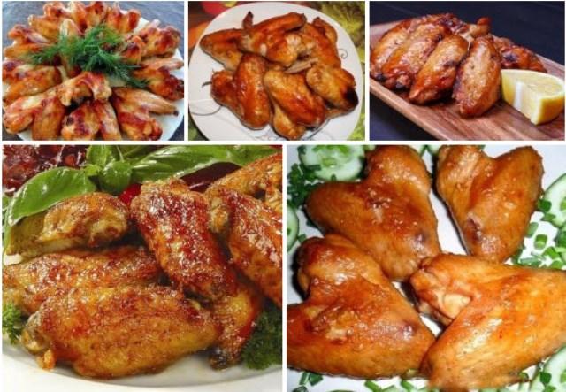 Куриные крылышки: 6 проверенных рецептов
