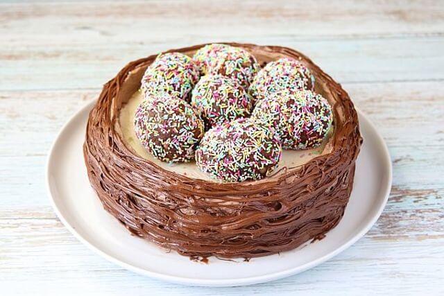 Пасхальный торт «Гнёздышко»