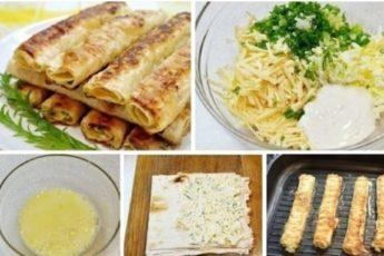 Сырные палочки из лаваша — идеальное блюдо для пикника.