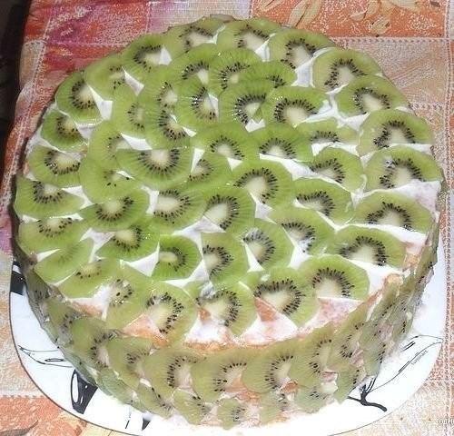 Торт «Тропиканка» за 15 мин!