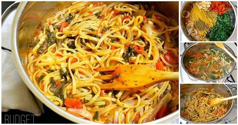 Ароматная итальянская паста. Весь секрет — во вкусном соусе