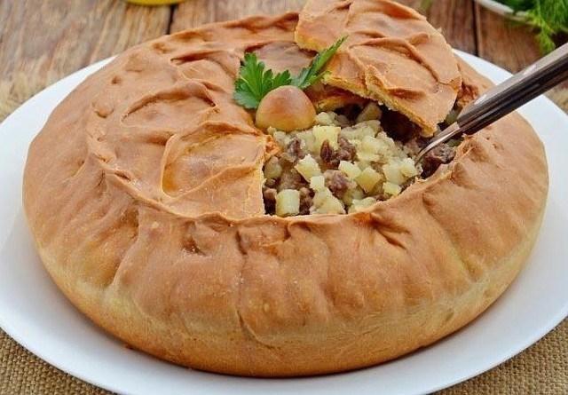 Татарский пирог зур бэлиш. Рецепт, проверенный годами. Делаю по 2 порции — всегда не хватает.