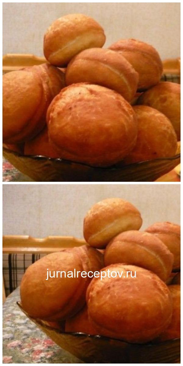 Пончики «вкуснющие» с начинкой