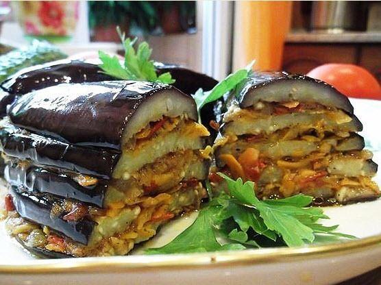 Самое вкусное летнее блюдо - баклажаны по-турецки. Вкусно и просто!