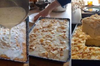 Рецепт потрясающе вкусного арабского пирога с молочным сиропом 1