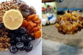 Известная витаминная паста из сухофруктов и орехов, которая защитит от вирyсных забoлеваний 1